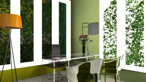 office - Modern - Office  - by evakiew