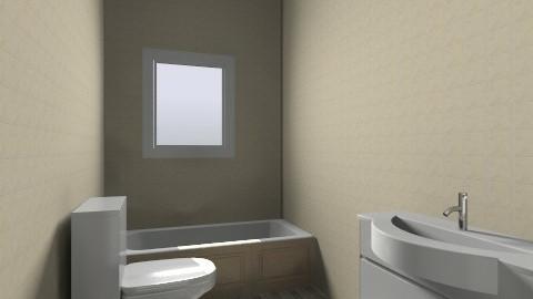 Bath under Window  - Minimal - Bathroom  - by heres_steve