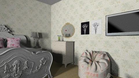 vintage bedroom 3 - Vintage - Bedroom  - by kellydwiyanti
