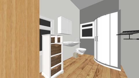 Bath1 - Modern - Bathroom  - by mzahmed9211