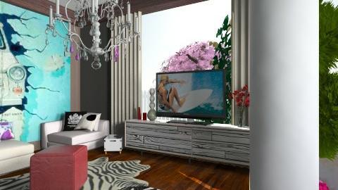 simple - Living room - by pyksio