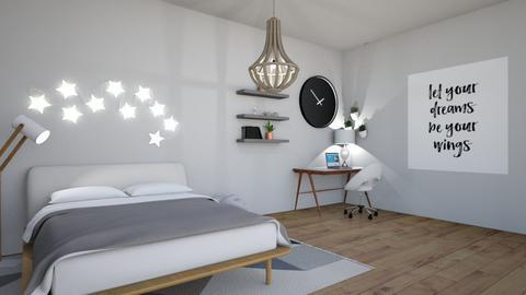 Dream room contest_Zozo - Bedroom  - by Chinchilla Lover