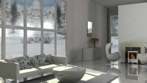 minimal - Minimal - Living room  - by ellena_nice