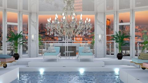 Hotel Pool Template - Office  - by Evie_interior