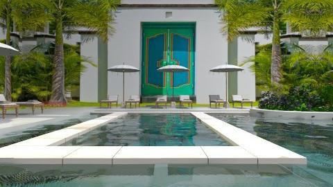 Court yard  - Eclectic - Garden  - by AlSudairy S