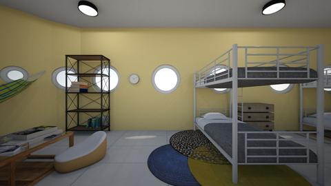 We All Live in  - Bedroom  - by kara_is_designing