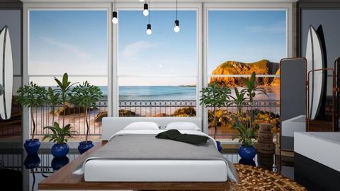 Surf bedroomyu - Living room - by rechnaya
