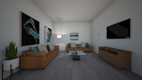 blue gold - Modern - Living room  - by XenaChico