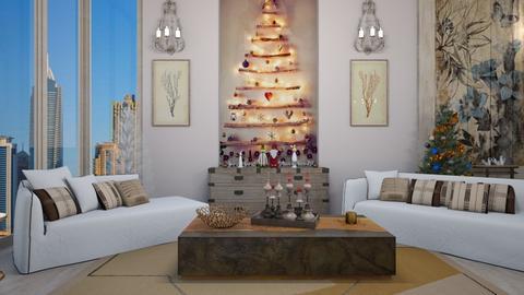 Christmas Wall - Living room  - by matina1976