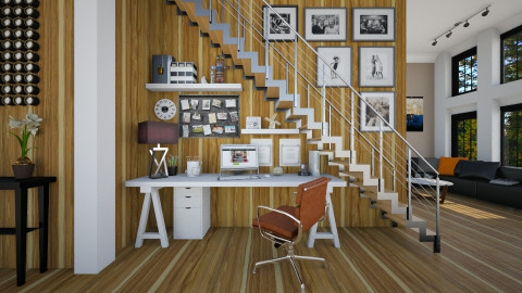 Home Office - Modern - Office  - by evahassing