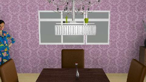 uni plans - Dining Room  - by HannahLuckhurst
