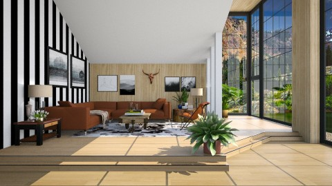 Sweet escape - Living room  - by meggle