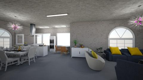sala de jantar - Classic - Living room  - by anamsatyro