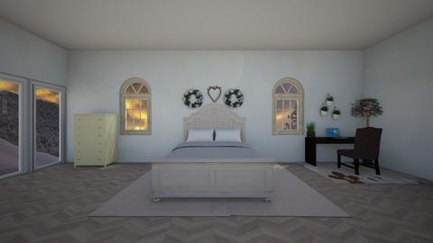 Cozy Bedroom - Glamour - Bedroom  - by valentena