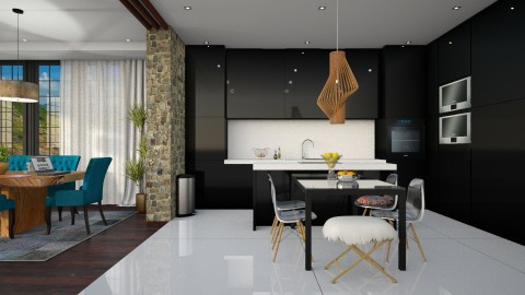 For 5 - Modern - Kitchen  - by DeborahArmelin
