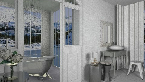bathroom - Glamour - Bathroom  - by amandafern