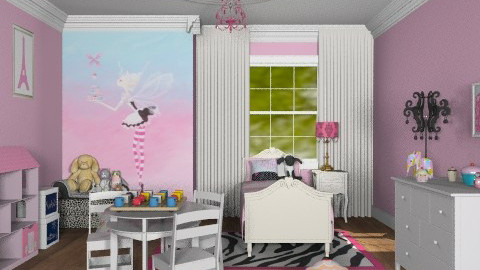 Delishious - Feminine - Kids room  - by alleypea
