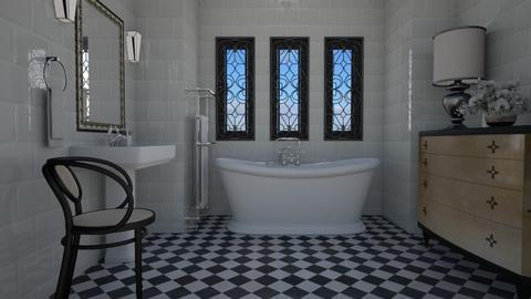 Art Deco - Bathroom  - by Tuija