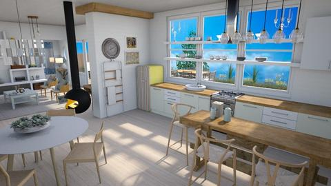 Ocean view - Kitchen  - by augustmoon