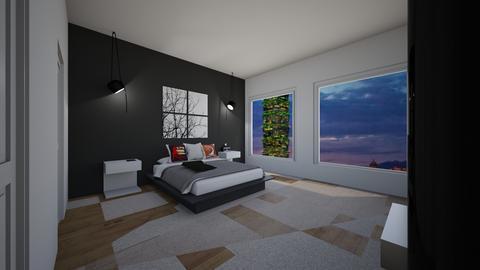 VeryModernTeensRoomLA - Modern - Bedroom  - by jade1111
