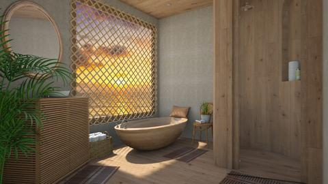 Island vibes - Bathroom  - by daydreamer84