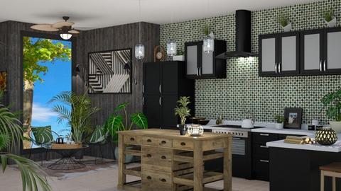 Urban Jungle Kitchen - by kyrabaldwin