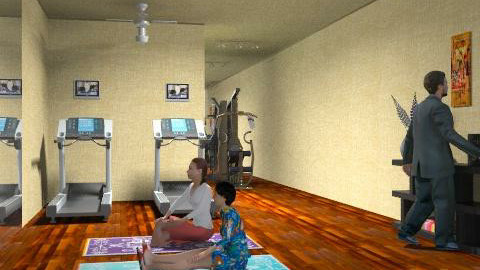 yoga at the home gym!!!!!!! - Minimal - by thankgod