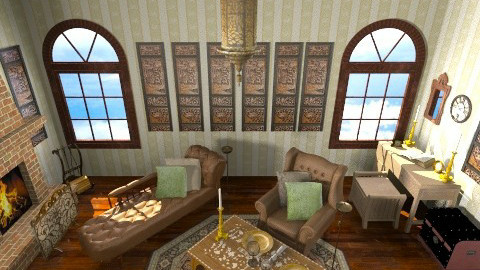 Sherlock home - Vintage - Living room - by CARMEND70