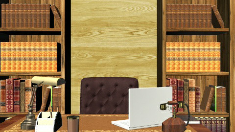 I - Rustic - Office  - by misspsk