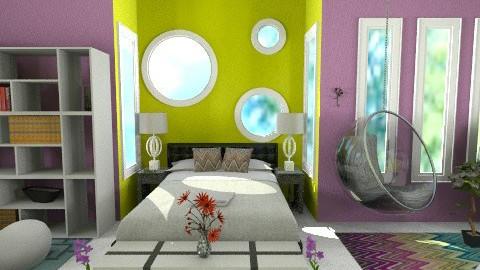 Dream room - Modern - Bedroom  - by Leigha Kay