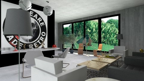 home office bege - Classic - Office  - by Talles Paganotti