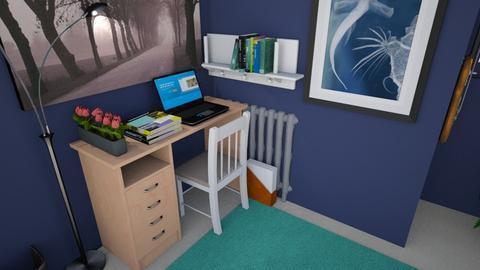 Desk 1 - Bedroom - by Fitz56