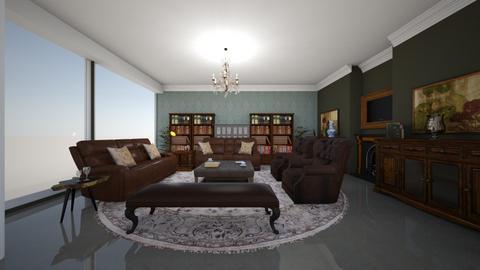 Joels living 2 - Rustic - Dining room  - by Keilla