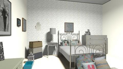summer finn bedroom - Vintage - Bedroom  - by nenatohir