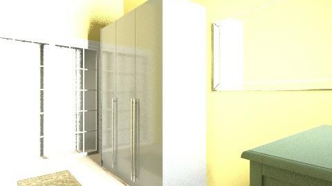 my dream bedroom - Vintage - Bedroom  - by syifalarasati