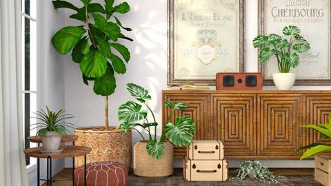 Plant room - Living room  - by eliseatlife