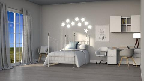 Ivory - Modern - Bedroom  - by kitacat