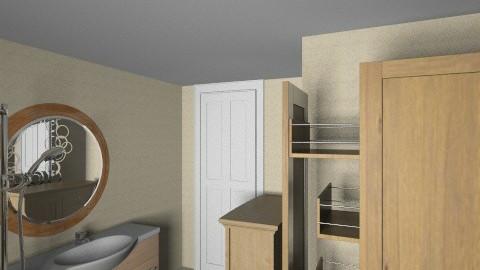 upstairs bathroom - Eclectic - Bathroom  - by mrwief