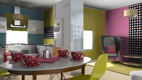 polka  - Eclectic - Kitchen  - by chania