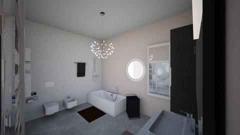 Master restroom - Bathroom - by layanhakim