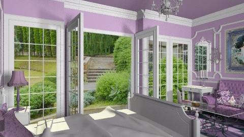 Lavender Scent - Classic - Bedroom  - by Bibiche