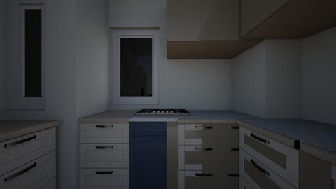 ashu kitchen - Kitchen  - by AARADHAY DESIGNER