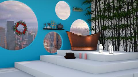 Circle Bath Remix  - Modern - Bathroom  - by Unicorn43794