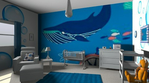 Boys nursery - Eclectic - Kids room - by raphaelfernandesdesign