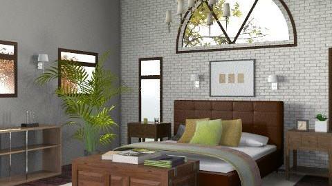 Cozy Bedroom - Rustic - Bedroom  - by ingramaa
