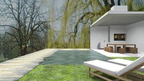 Churrasqueira  - Modern - Garden  - by wagner herbst padilha