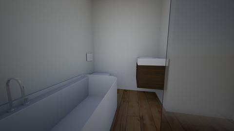 bath1a - Modern - Bathroom  - by capell