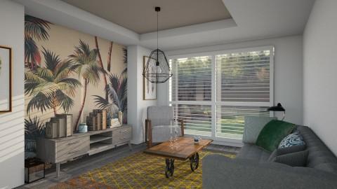 cozy living room - Living room  - by mayssa ltf