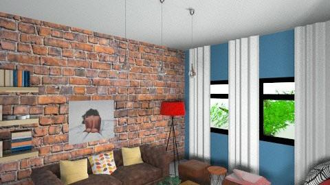 wg living - Rustic - Living room  - by michg