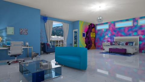 raquels rm in beverly hm - Modern - Bedroom - by fashiondesigner7